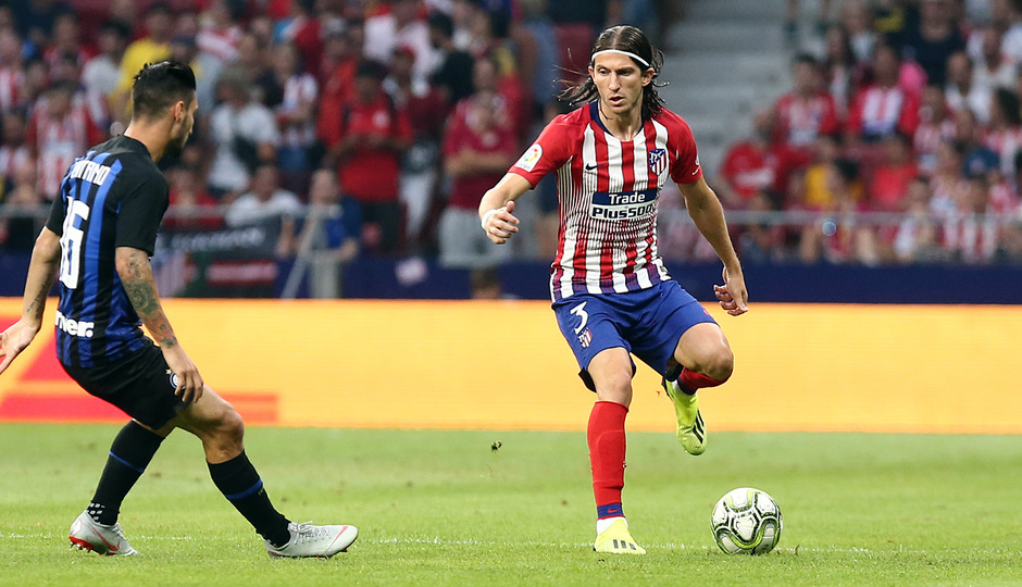 Temporada 2018-2019 | Atlético de Madrid - Inter  | Filipe