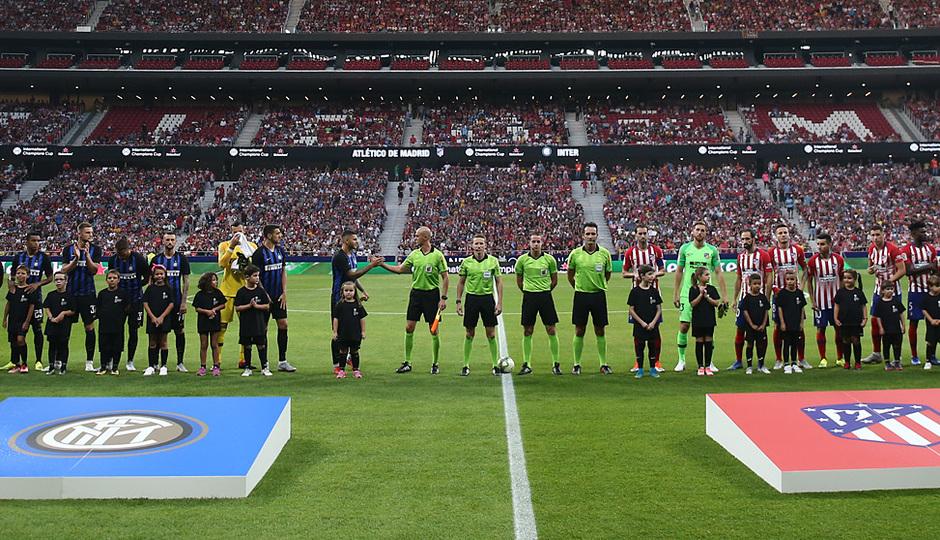 Temporada 2018-2019 | Atlético de Madrid - Inter | Alineación