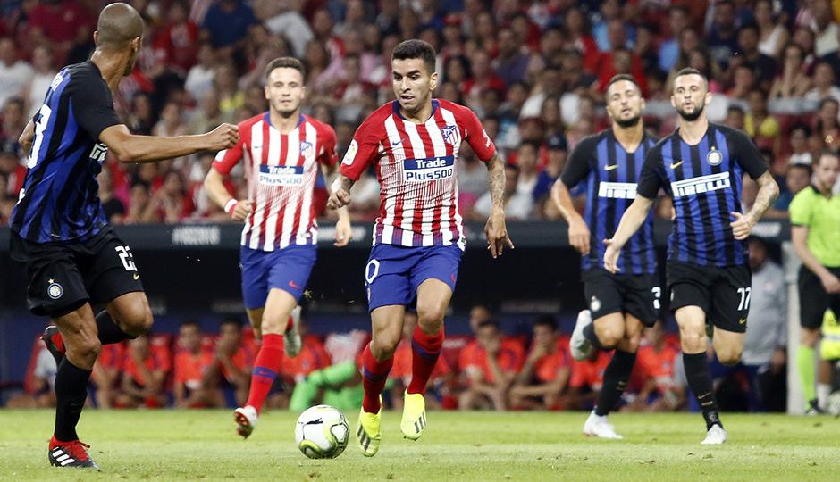 Temporada 2018-2019 | Atlético de Madrid - Inter | Correa