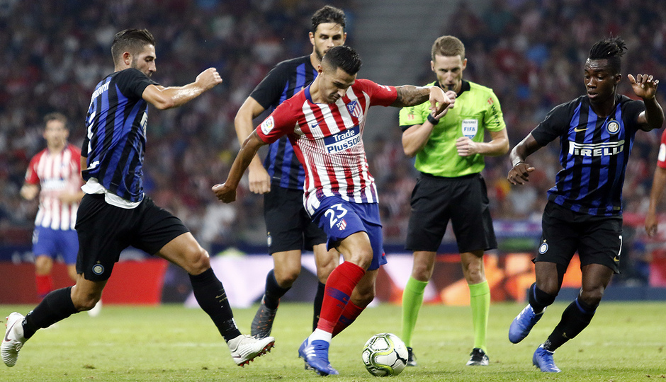 Temporada 2018-2019 | Atlético de Madrid - Inter | Vitolo