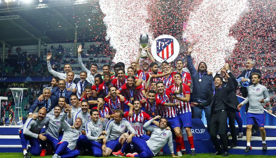 temporada 18/19. Supercopa de Europa. Grupo
