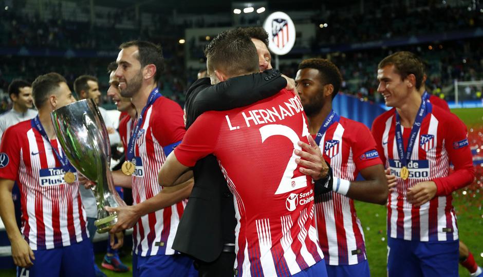 Temporada 2018-2019. Campeones Supercopa | Simeone Lucas