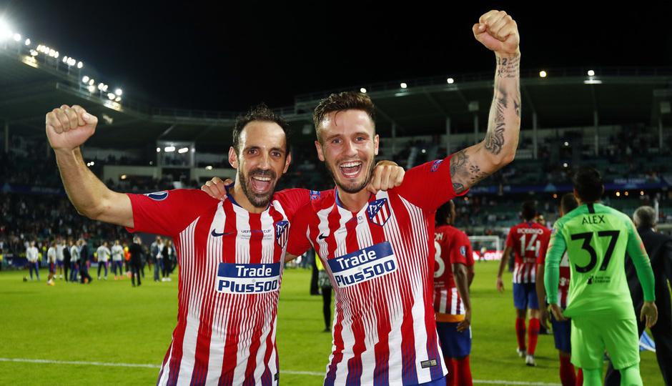 Temporada 2018-2019. Campeones Supercopa | Juanfran Saúl