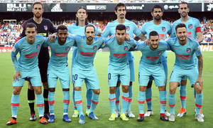 Temp. 18/19 | Valencia - Atlético de Madrid | Once