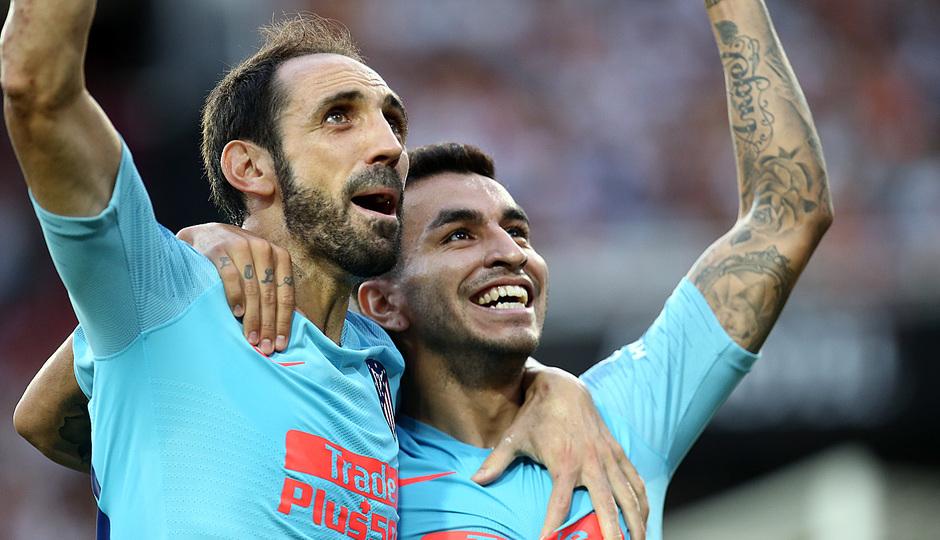 Temp. 18/19 | Valencia - Atlético de Madrid | Correa celebración 3
