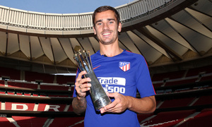 temporada 18/19. Reportaje Antoine Griezmann MVP Europa League