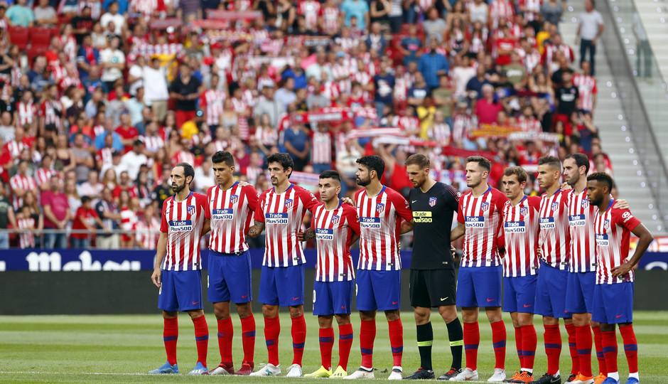 Temporada 2018-2019 |  Atlético de Madrid - Rayo Vallecano | Once
