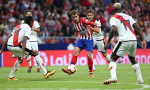 Temporada 2018-2019   Atlético de Madrid - Rayo Vallecano   Griezmann