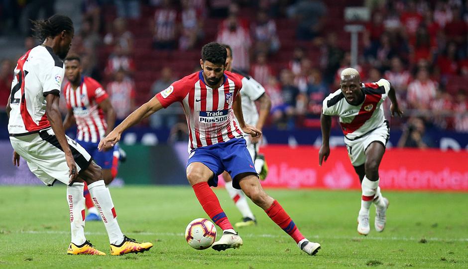 Temporada 2018-2019 | Atlético de Madrid - Rayo Vallecano | Diego Costa