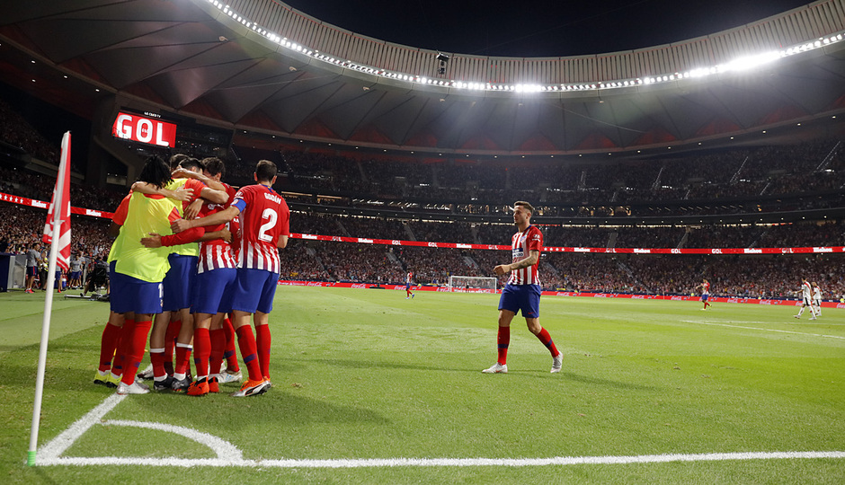 Temporada 2018-2019 | Atlético de Madrid - Rayo Vallecano | Gol Griezmann