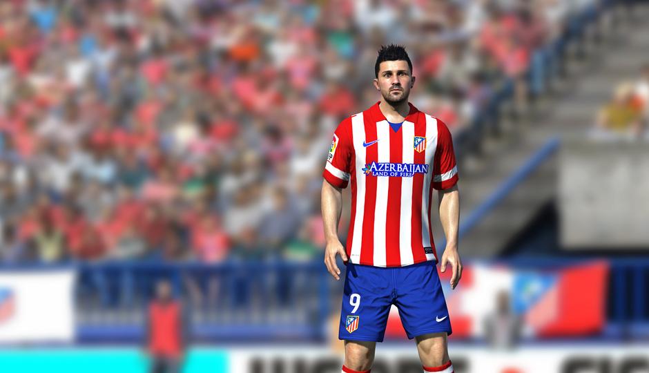 David Villa en el FIFA14