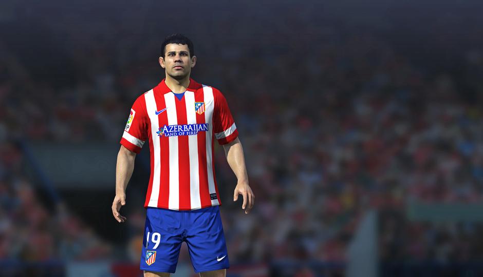 Diego Costa en el FIFA 14