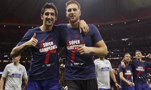 Temporada 2018-2019 | Celebración Supercopa de Europa | Savic, Oblak