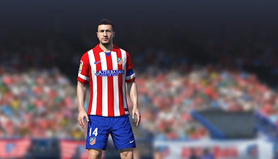 Gabi en el FIFA 14
