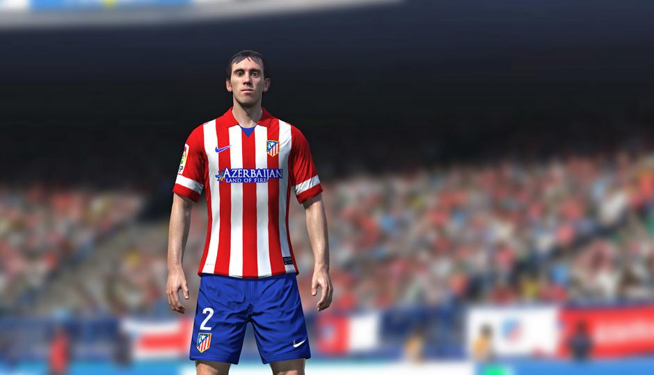 Godín en el FIFA 14