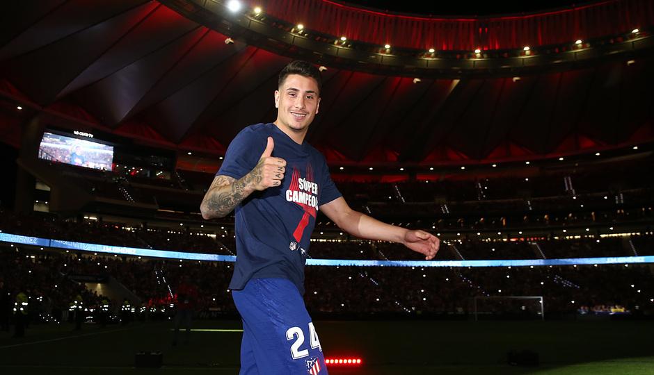 Temporada 2018-2019 | Celebración Supercopa de Europa | Giménez
