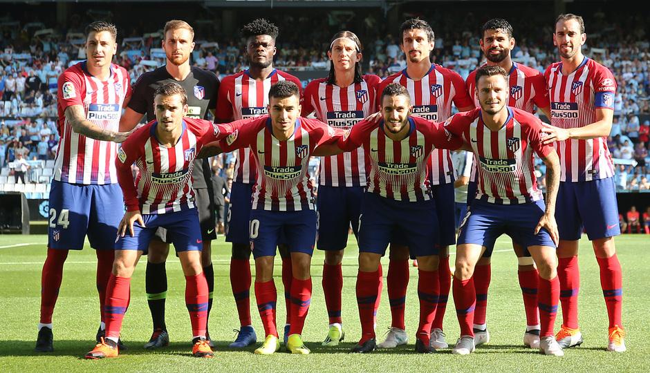 Temporada 2018-2019 | Celta - Atlético de Madrid | Once