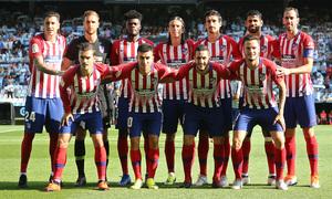 Temporada 2018-2019   Celta - Atlético de Madrid   Once