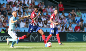 Temporada 2018-2019   Celta - Atlético de Madrid   Thomas