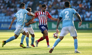 Temporada 2018-2019   Celta - Atlético de Madrid   Diego Costa