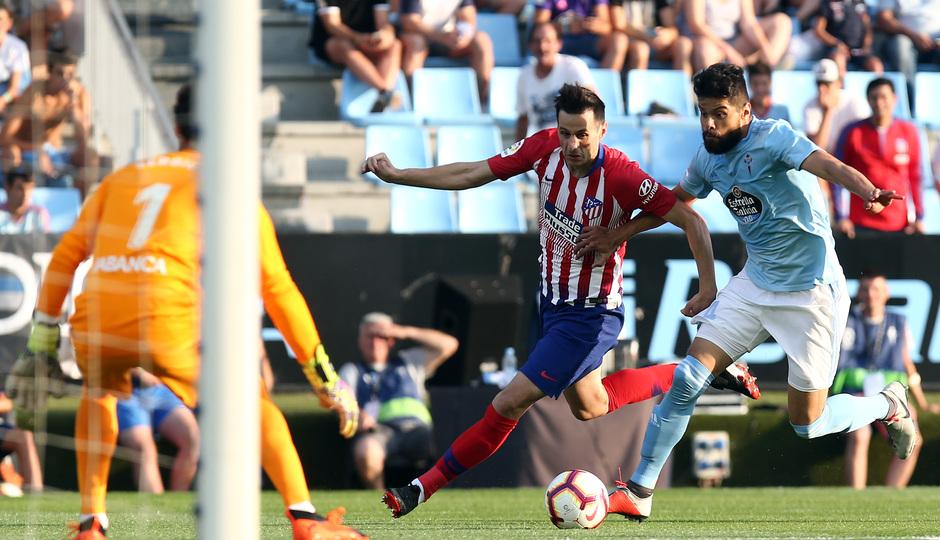 Temporada 2018-2019 | Celta - Atlético de Madrid | Kalinic