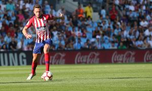 Temporada 2018-2019   Celta - Atlético de Madrid   Saúl