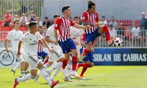 Temp. 18-19 | Atlético de Madrid B - Real Madrid Castilla | Samu Araújo