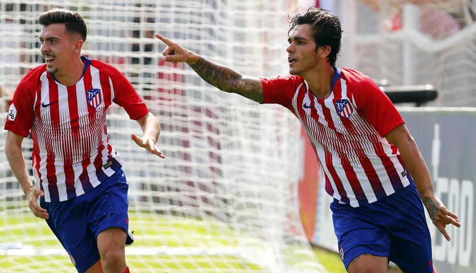 Temp. 18-19 | Atlético de Madrid B - Real Madrid Castilla | Samu Araújo | Celebración