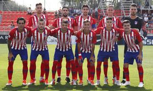 Temporada 2018/2019. Atlético de Madrid B contra el Real Madrid Castilla.