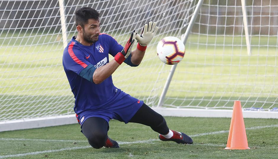 Temporada 18/19 | 05/09/2018 |  Entrenamiento en la Ciudad Deportiva Wanda | Adán