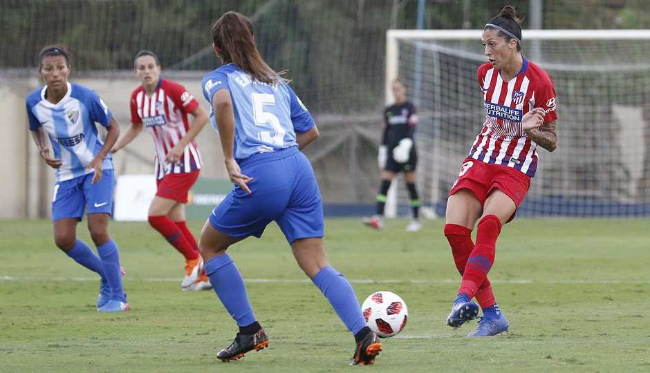 Temporada 2018-2019 | Málaga CF Femenino - Atlético de Madrid Femenino | Jennifer Hermoso
