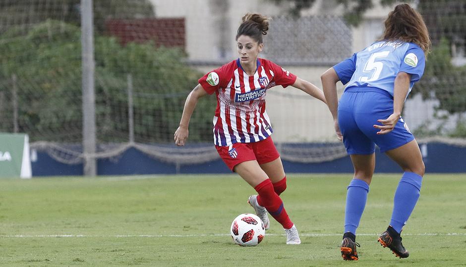 Temporada 2018-2019   Málaga CF Femenino - Atlético de Madrid Femenino   Esther
