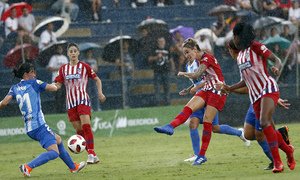 Temporada 2018-2019   Málaga CF Femenino - Atlético de Madrid Femenino   Ángela Sosa