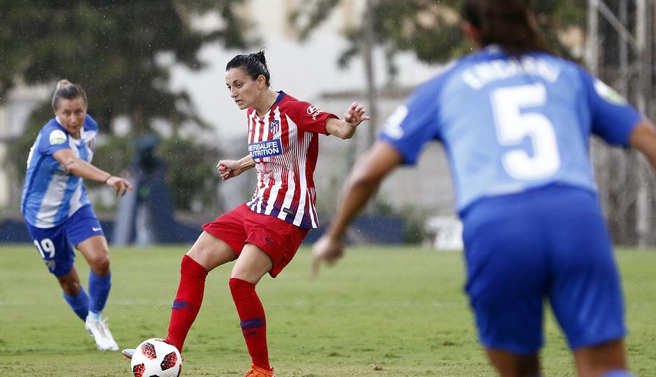 Temporada 2018-2019   Málaga CF Femenino - Atlético de Madrid Femenino   Kaci
