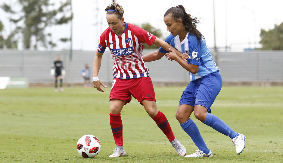 Temporada 2018-2019 | Málaga CF Femenino - Atlético de Madrid Femenino | Amanda Sampedro
