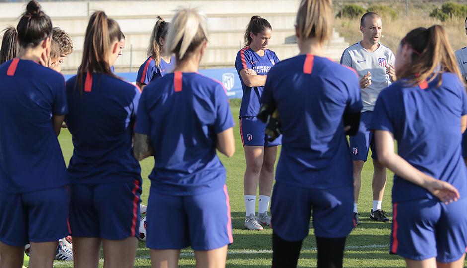 Temp. 18-19 | Entrenamiento Femenino en Los Ángeles de San Rafael previo UWCL |