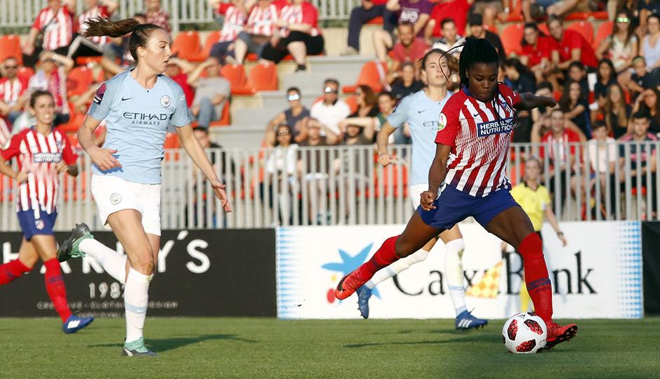 Temporada 18/19 | Atlético de Madrid Femenino - Manchester City | Ludmila da Silva