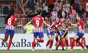 Temporada 2018-2019 | Atlético de Madrid Femenino - Manchester City Femenino | Celebración