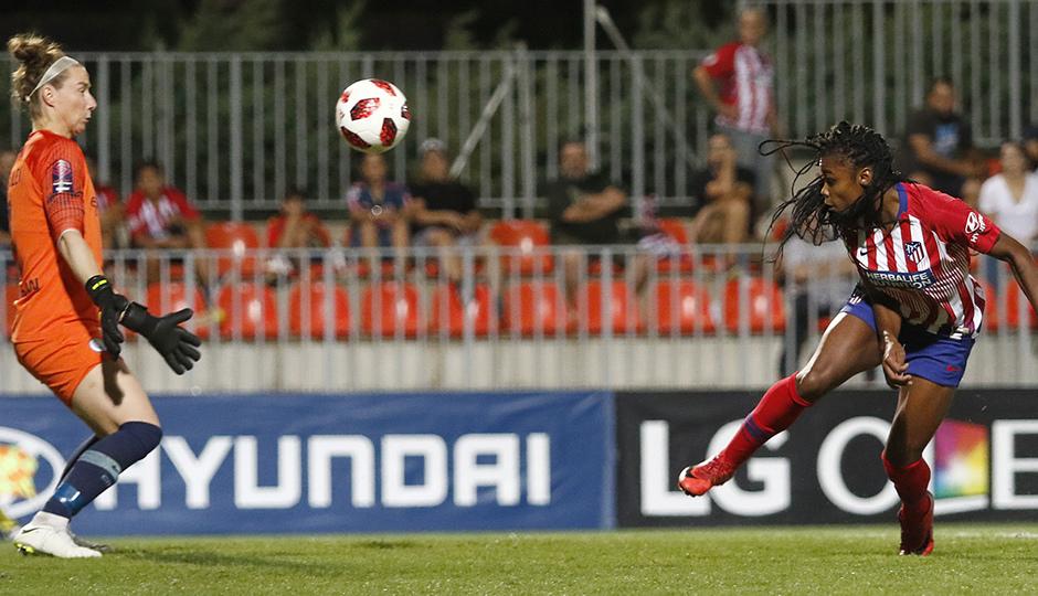 Temporada 2018-2019 | Atlético de Madrid Femenino - Manchester City Femenino | Ludmila