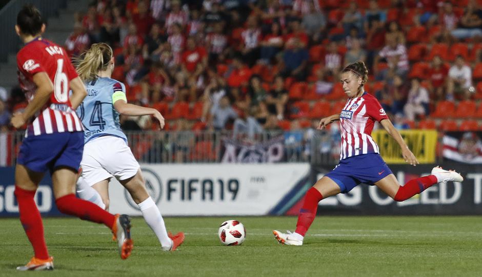 Temporada 2018-2019 | Atlético de Madrid Femenino - Manchester City Femenino | Carmen Menayo