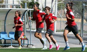 Temporada 2012-2013. Gran esfuerzo físico de las jugadoras del Féminas
