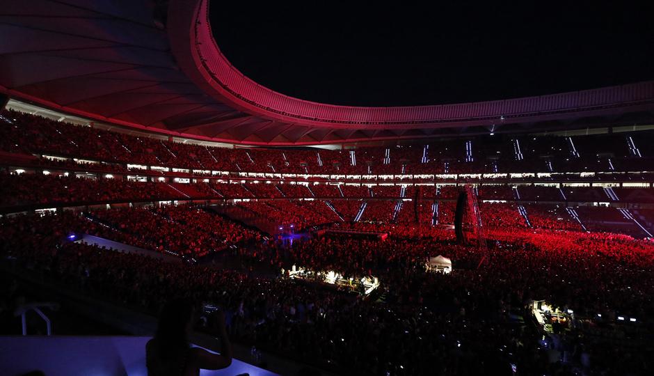 Wanda Metropolitano Bruno Mars