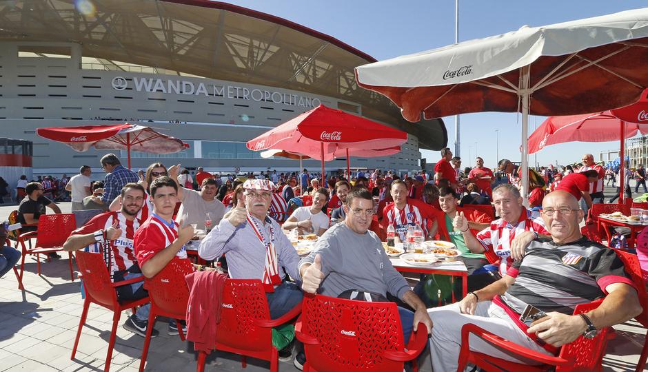 Wanda Metropolitano Día de las Peñas