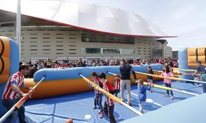 Wanda Metropolitano Día del Niño