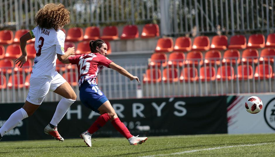 Temporada 2018-2019 | Atlético de Madrid Femenino - Logroño | Silvia Meseguer