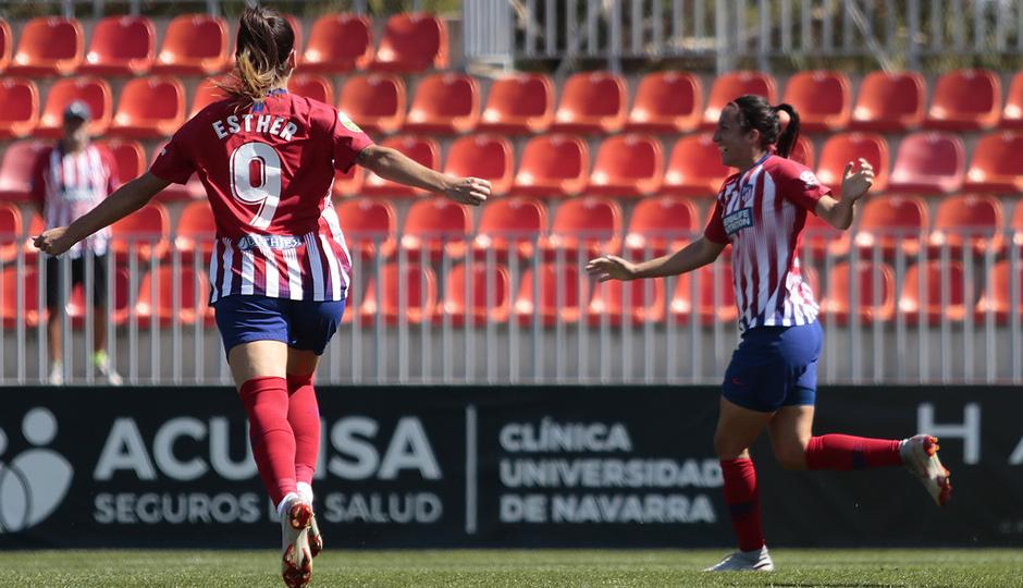 Temporada 2018-2019 | Atlético de Madrid Femenino - Logroño | Esther