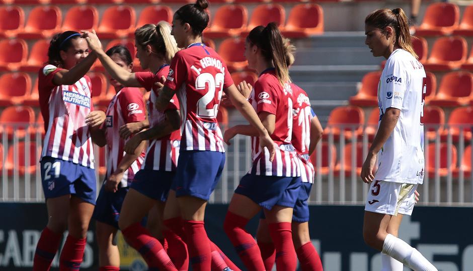 Temporada 2018-2019 | Atlético de Madrid Femenino - Logroño | Grupo gol