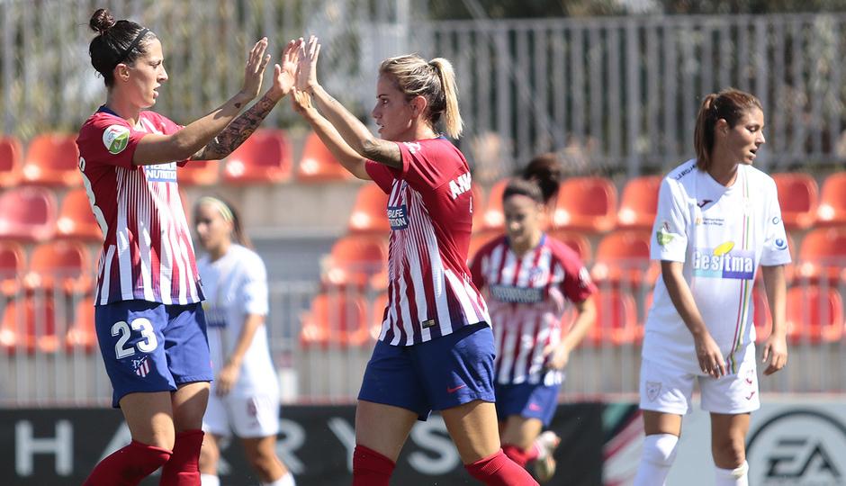 Temporada 2018-2019 | Atlético de Madrid Femenino - Logroño | Ángela Sosa