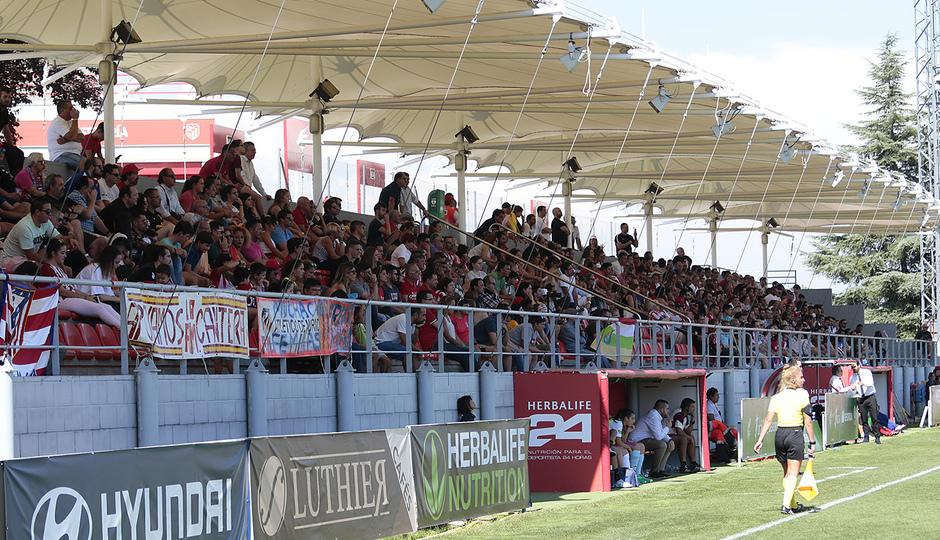 Temporada 2018-2019 | Atlético de Madrid Femenino - Logroño | Afición Ciudad Deportiva Wanda