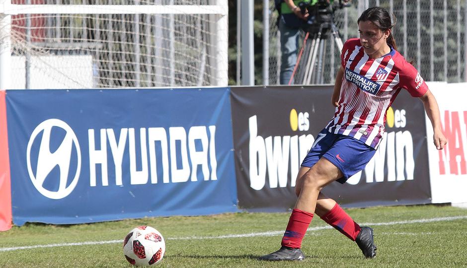 Temporada 2018-2019 | Atlético de Madrid Femenino - Logroño | Chidiac